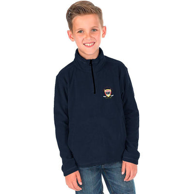 Polo Republica Hockey League Kids Quarter Zipper Neck Sweat Shirt Boy's Sweat Shirt Polo Republica Navy 3-4 Years