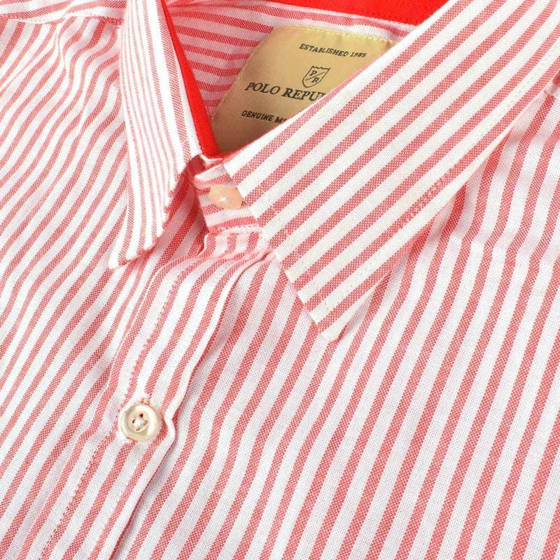 Polo Republica Cinisello Balsamo Stripes Casual Shirt Men's Casual Shirt RDS
