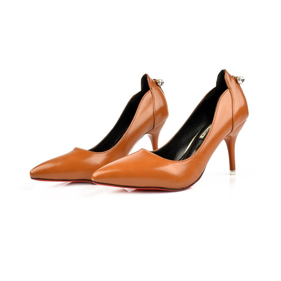 Meilfenben Miyoshi Faux Leather Court Shoes