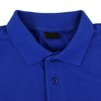 DNY Classic Solid Short Sleeve Polo Shirt Men's Polo Shirt Image