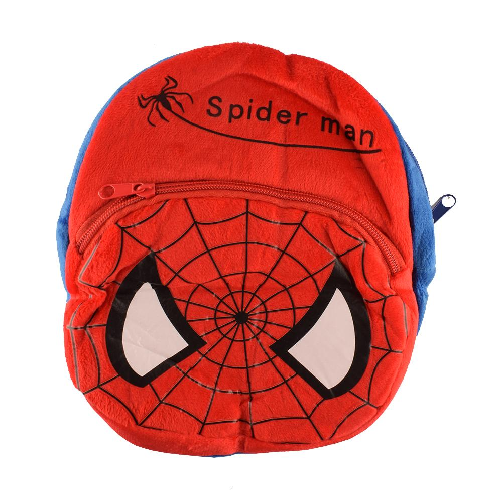 Kid's Cartoon Characters Super Soft Plush Back Packs School Bag Sunshine China Spider Man