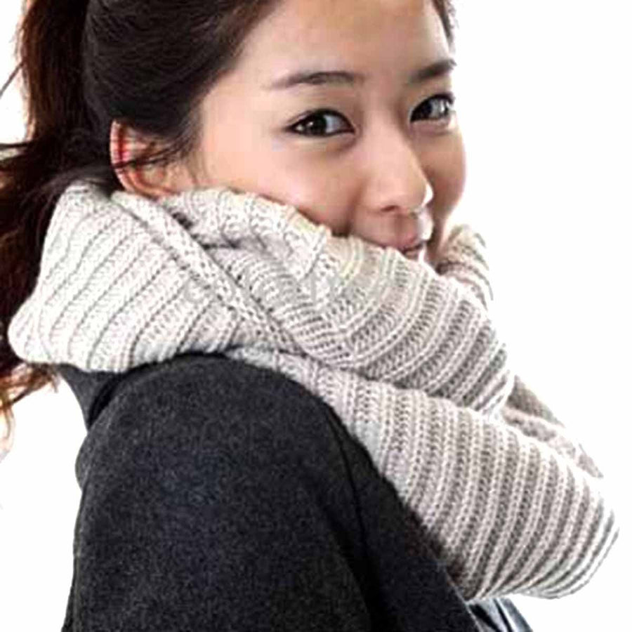 Morveez Hand Knotted Neck Warmer