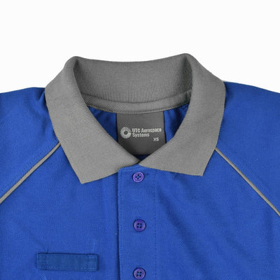 UTC Short Sleeve Selayang Contrast Panel Polo Shirt Men's Polo Shirt Image
