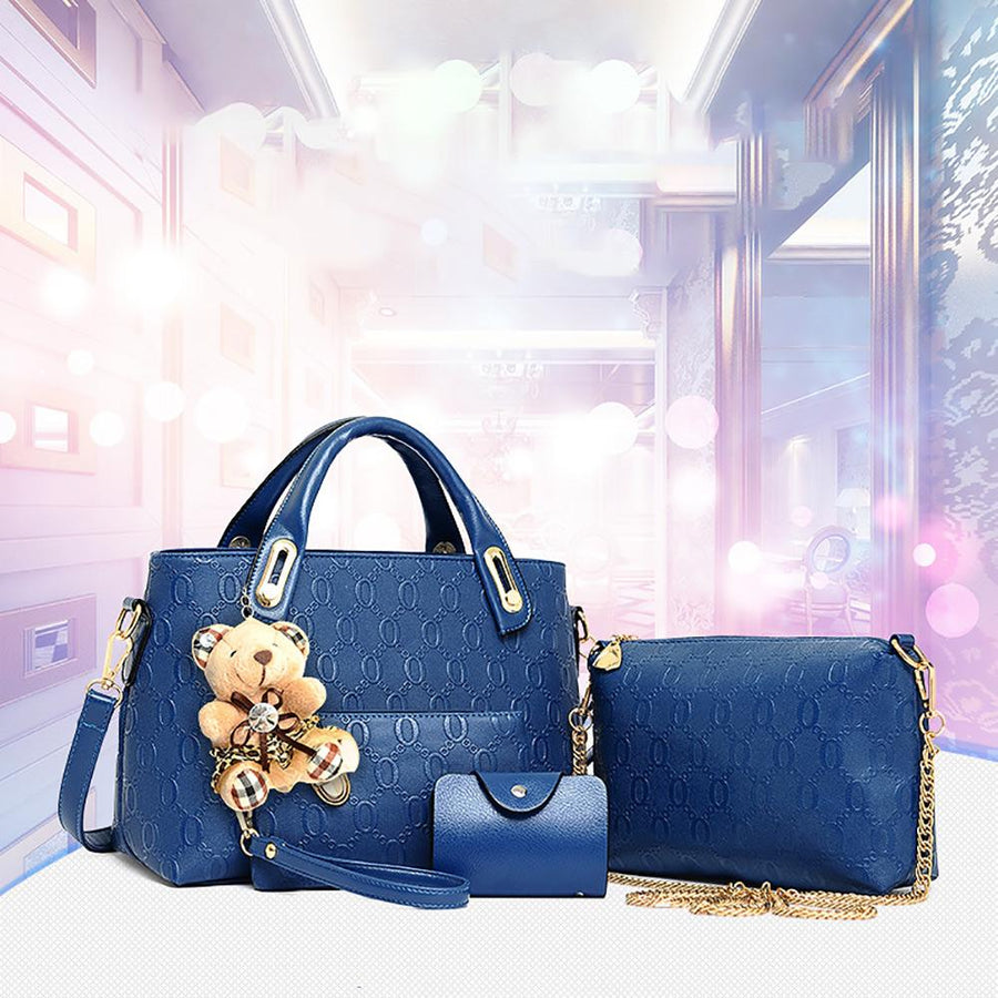 Women's Korean Style Five Pieces Bag Set
