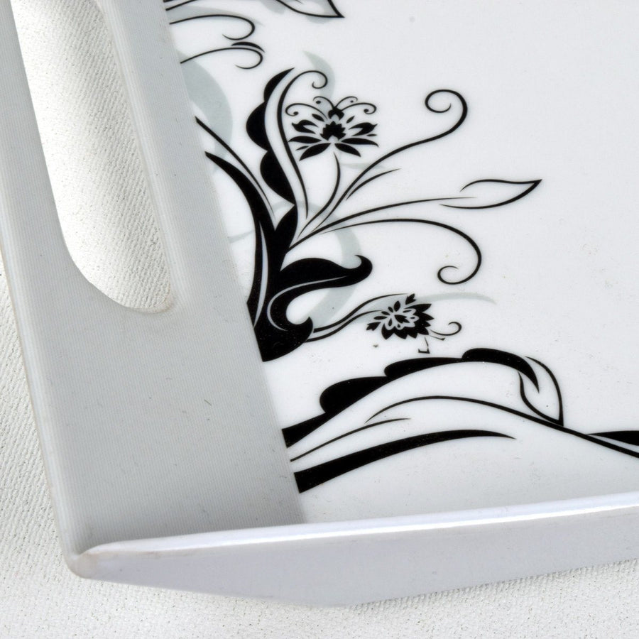 MB Melamine Tea Coffee Biscuit Cake Serving Tray - ExportLeftovers.com