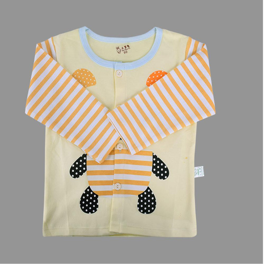 Front Open Printed Baby Suit - ExportLeftovers.com
