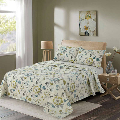 Araish Verdant Printed Sheet Set