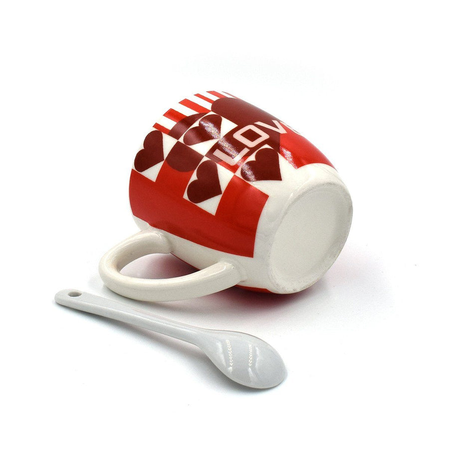 Love Heart Lovit Coffee Mug Set