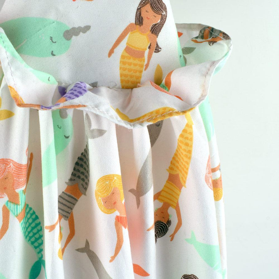 Fish Lady Design Diaper Stacker