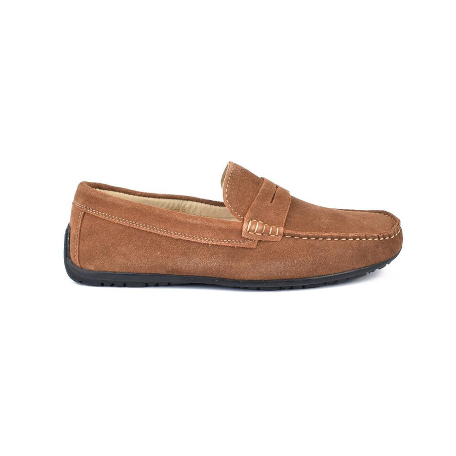 Mondo Comodo Classic Suede Leather Loafers