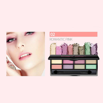 One Spring Eight Color Bright And Charming Eye Shadow Health & Beauty Sunshine China 02
