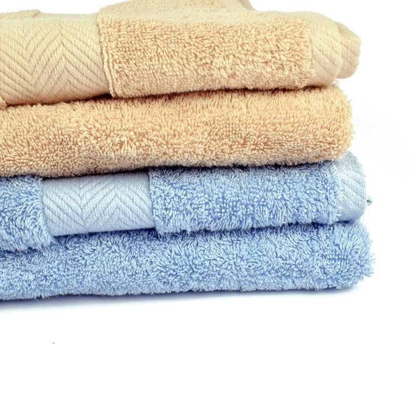 Polo Republica Mengzi Super Soft Pile Fancy Border Bath Towel Towel ITC