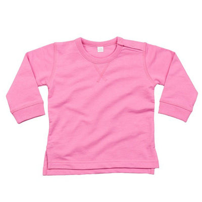 Trence Classic Sweat Shirt Boy's Sweat Shirt Image Pink 6-12 Months
