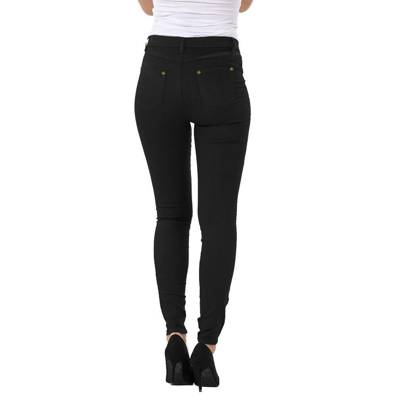 Rising Women's Milky Soft Black Jeggings Women's Jeggings AGZ S