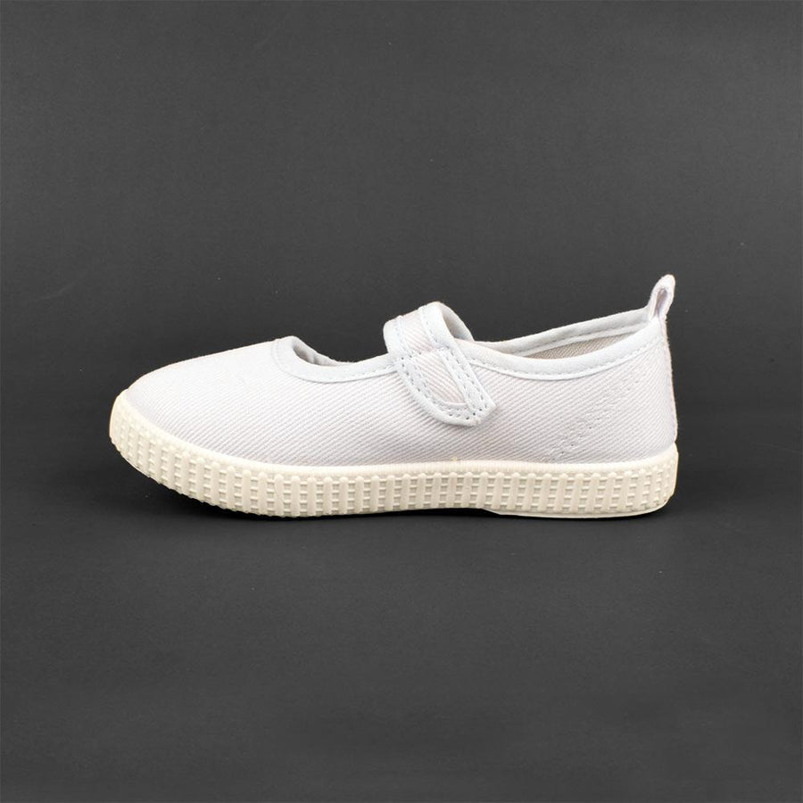 Doumen Gxiong Girls Velcro Canvas Shoes