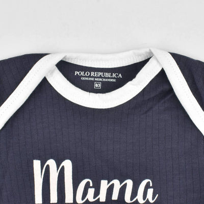 Polo Republica Mama Is My Bestie Thermal Lined Baby Romper Babywear Polo Republica