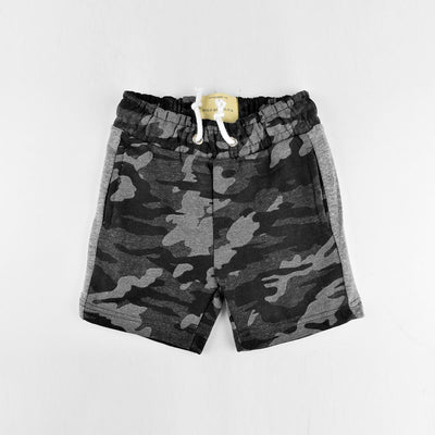 Polo Republica Kid's Camouflage Brushed Fleece Shorts Kid's Shorts MAJ