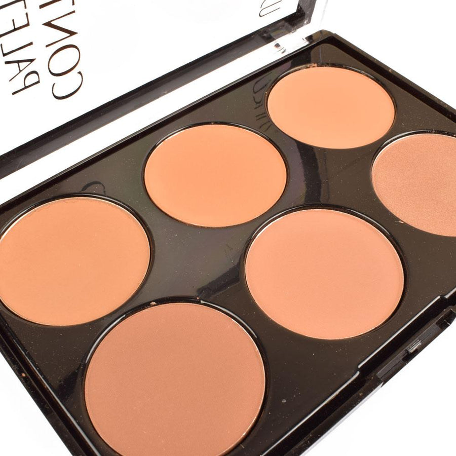 Ushas Six Colors Contour Palette