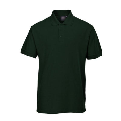 PTW Trend Short Sleeve B Quality Polo Shirt B Quality Image Bottle Green 2XL