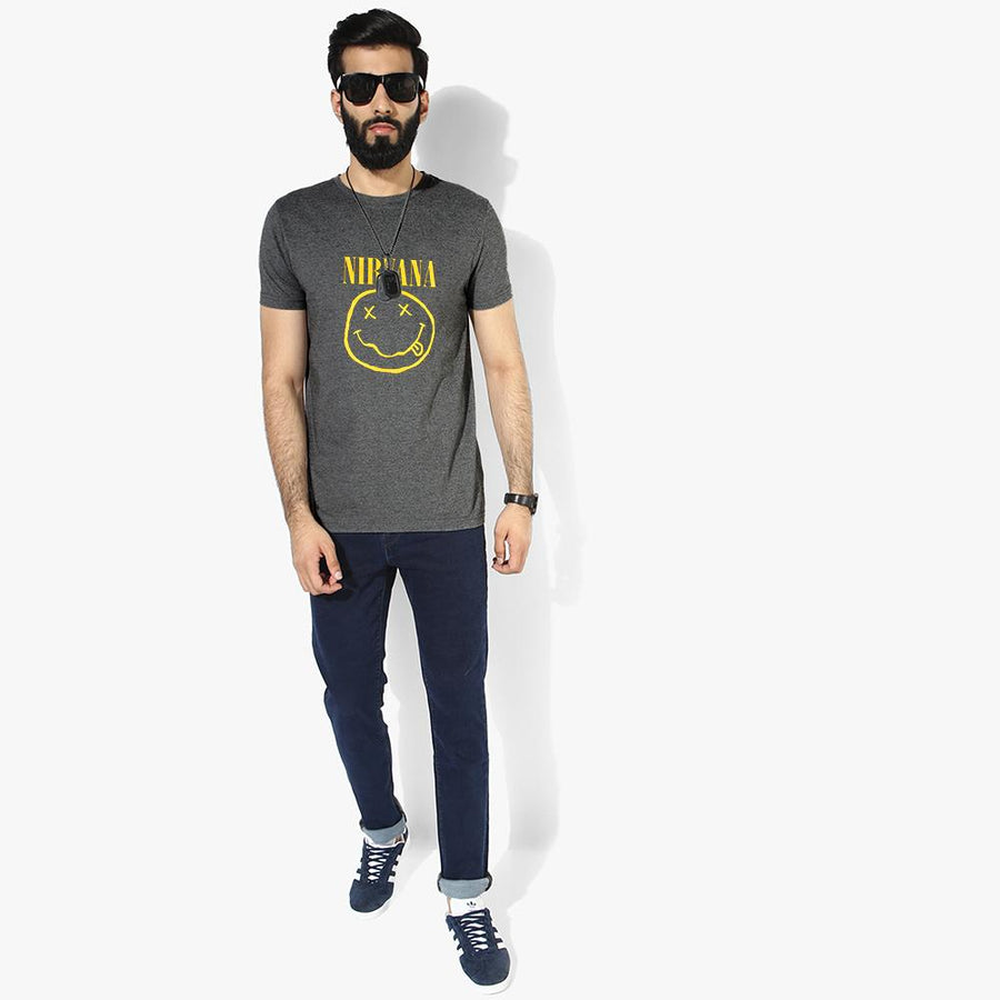 LE Nirvana Crew Neck Tee Shirt