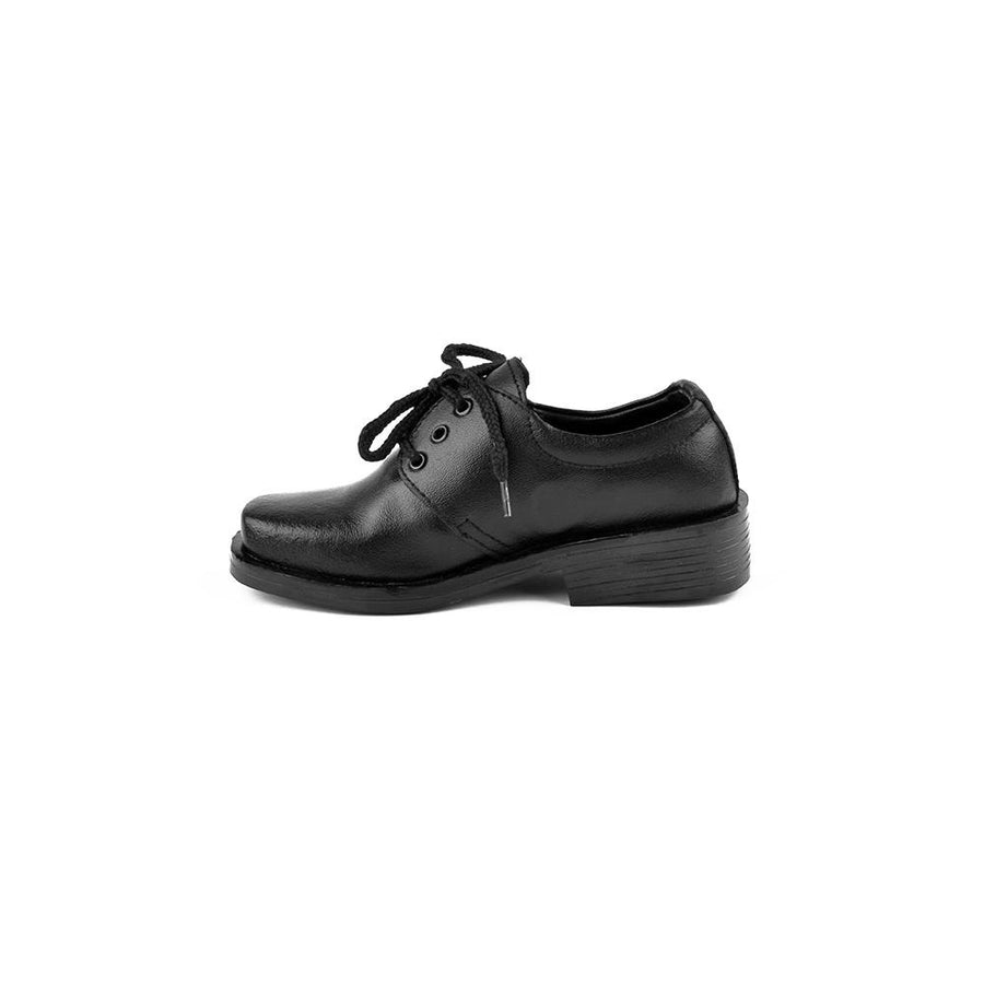 Nemo Genuine Leather Boys Lace Up School Shoes