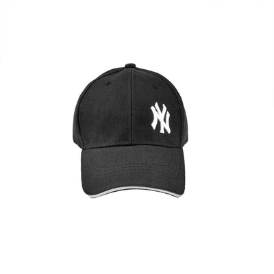 MB NY Signature Embro P Cap Headwear MB Traders Black