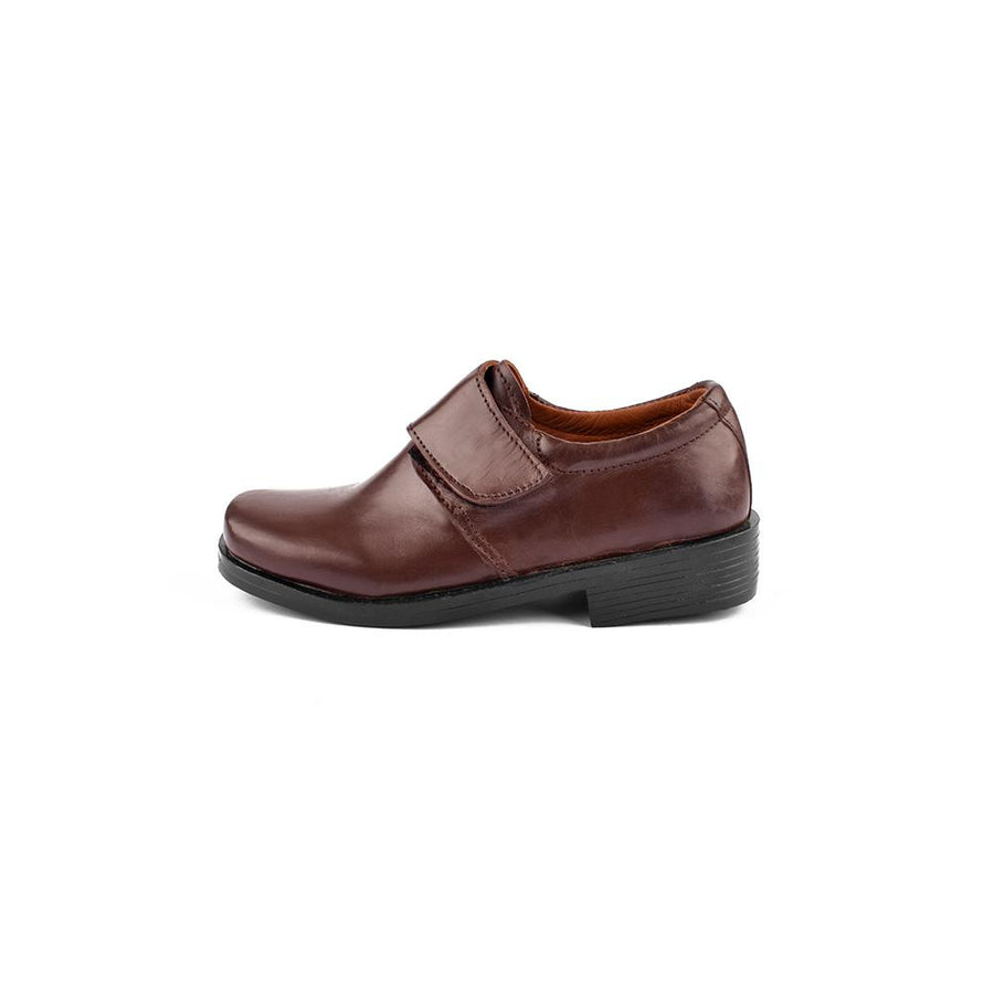 Nemo Genuine Leather Velcro Boys School Shoes