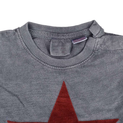 ZR Star Design Faded Style Long Sleeves Tee Shirt Boy's Tee Shirt SNC