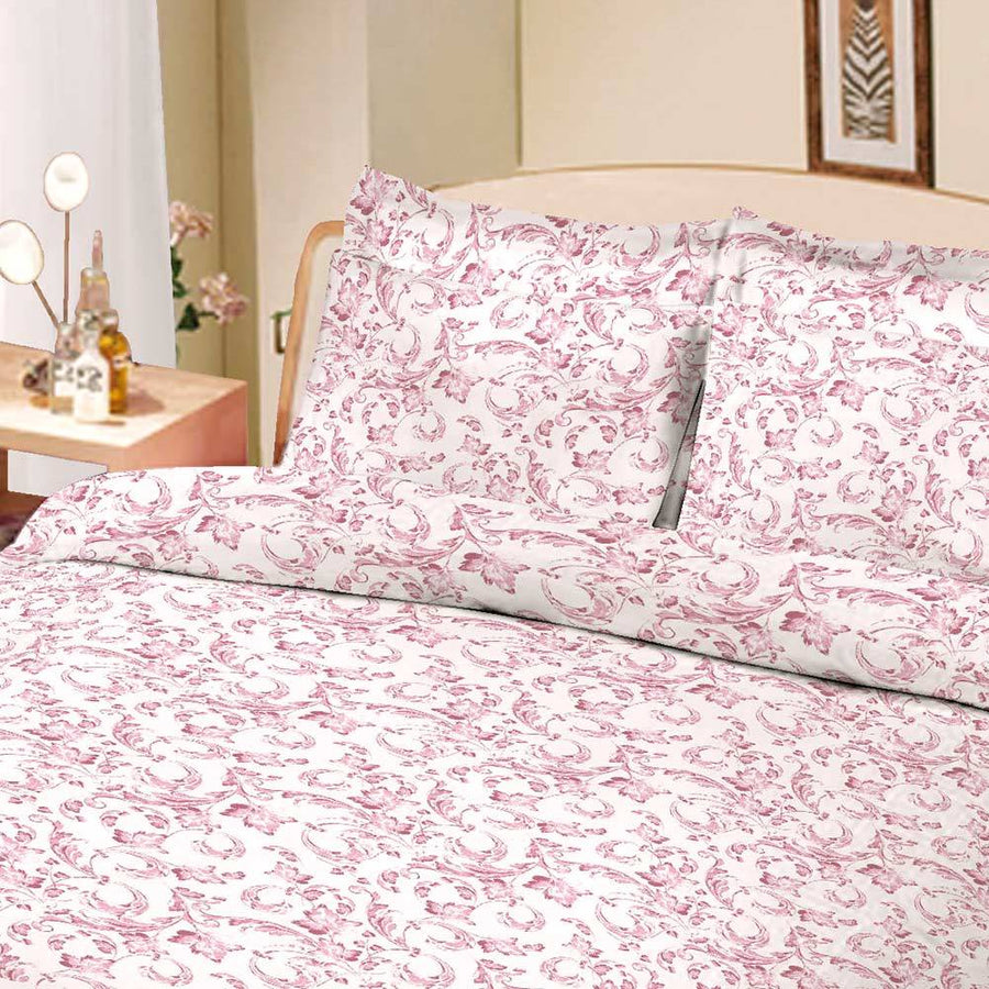 ARC Floral Sky Double Bed Sheet Set