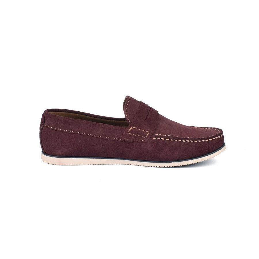 Burton Suede Leather Casual Slip On Loafers