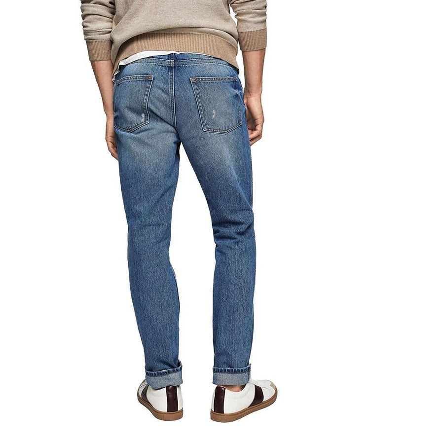 MGO Askale Tapered Cropped Denim