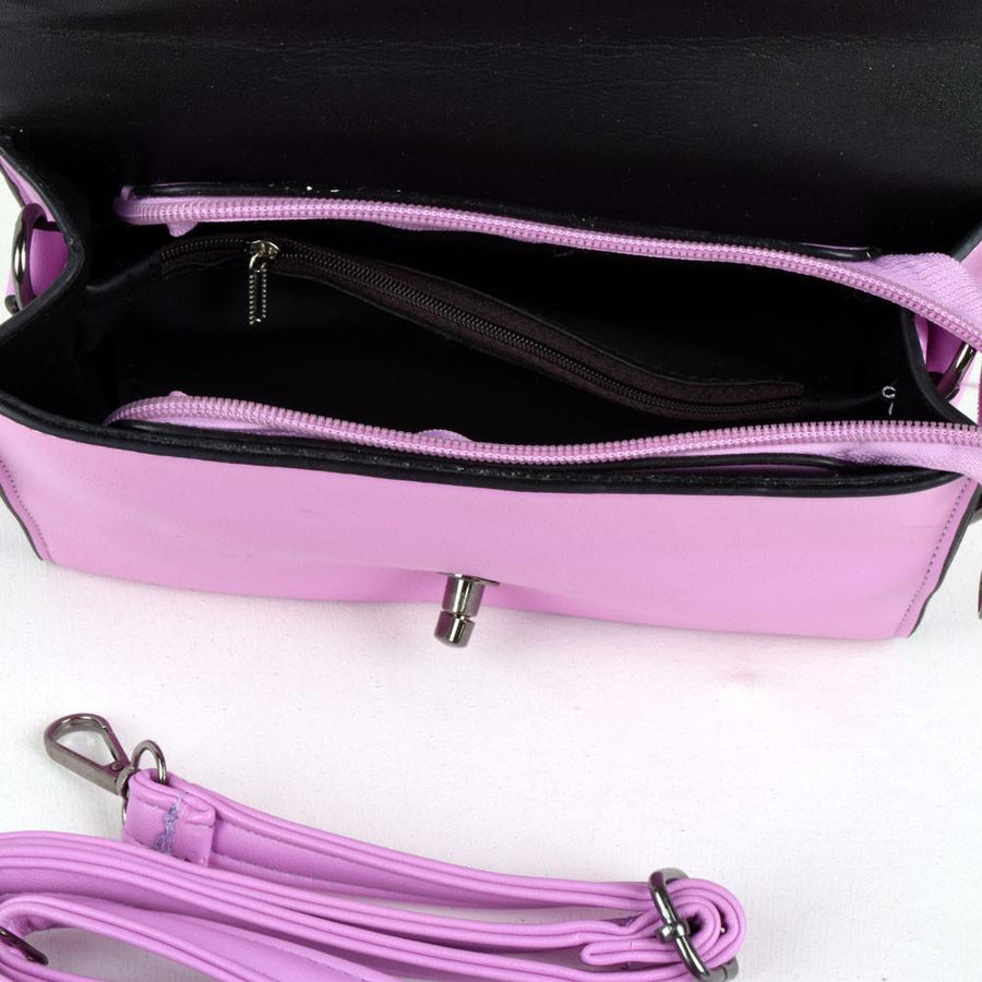 Fashion High Quality Pink Hand Bag - ExportLeftovers.com