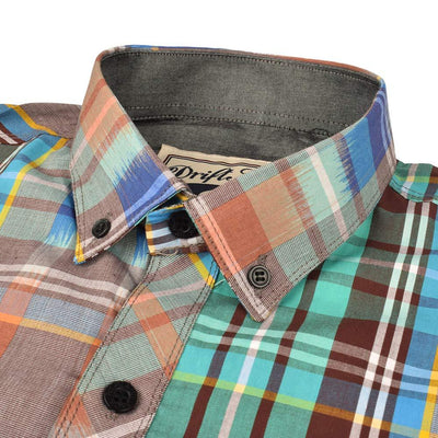 AHE Kovorev Check Design Casual Shirt Men's Casual Shirt AHE