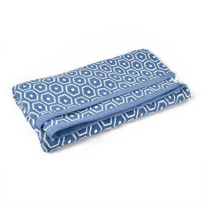Rambosa Tinny Dots Big Bath Towel Towel Haroon Cp Blue
