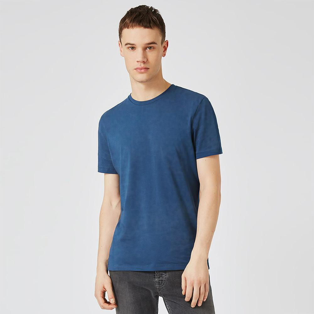 TMN Zanuma Single Jersey Crew Neck Tee Shirt Men's Tee Shirt MAJ Blue XXS