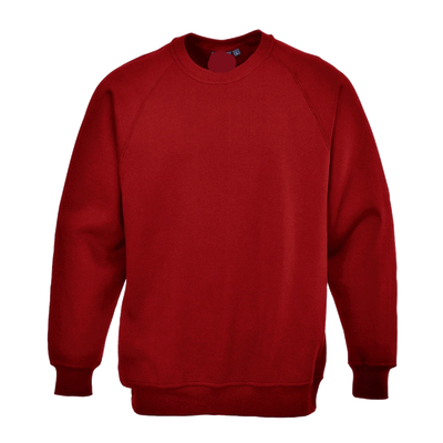 PRT Roma B300 B Quality Sweat Shirt B Quality Image Red 2XL
