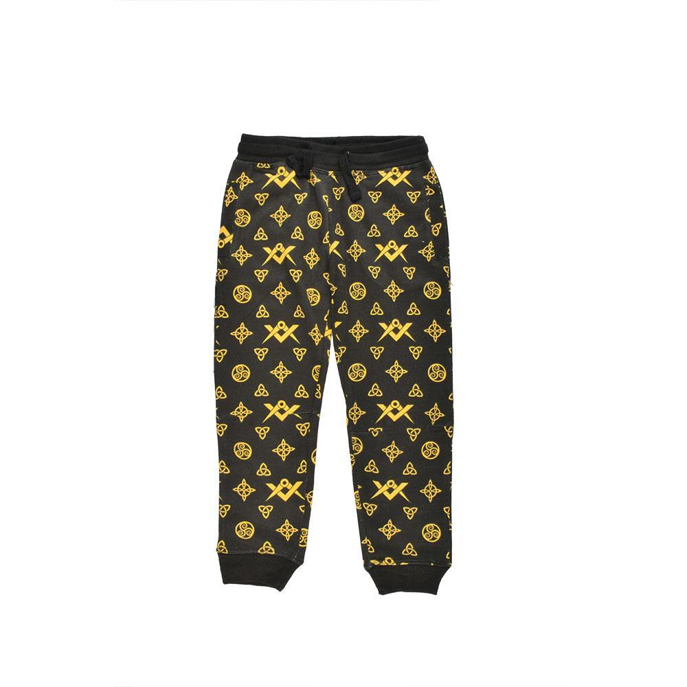 Panyc Pembroke Kids Printed Cotton Trouser Boy's Trousers First Choice 4 Years