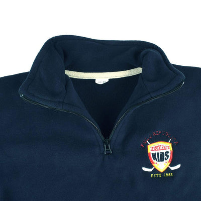 Polo Republica Hockey League Kids Quarter Zipper Neck Sweat Shirt Boy's Sweat Shirt Polo Republica
