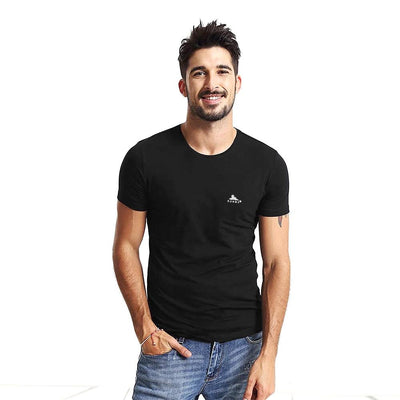 Sunny Elegance Crew Neck Under Tee Men's Underwear FNZ Black M