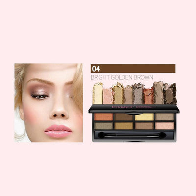 One Spring Eight Color Bright And Charming Eye Shadow Health & Beauty Sunshine China 04