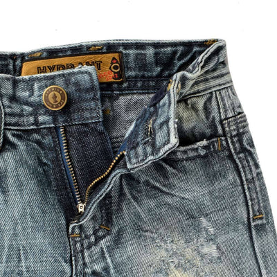 Hydrant Boys Panyu Distressed Straight Fit Denim Boy's Denim First Choice