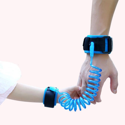Toddlers Anti lost Wrist Link Velcro Band Kids Straps Rope