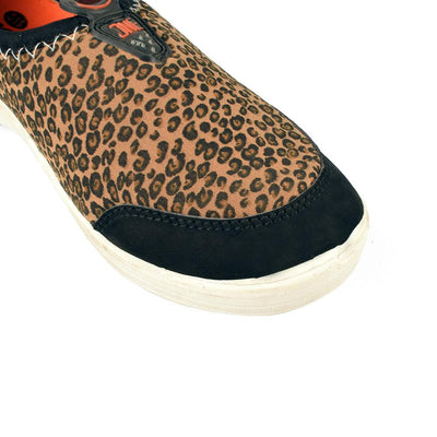 Miss Fit Leopard Design Women's Slip Ons Shoes Women's Shoes Hpral