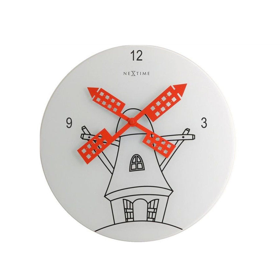 NeXtime International ( 8807 ) Wall Clock - ExportLeftovers.com