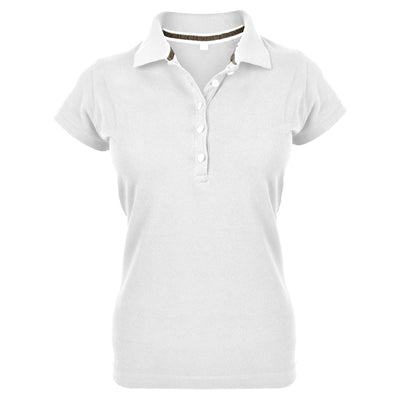 MTS Superstar Polo Shirt Women's Polo Shirt Image White S