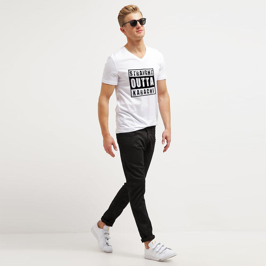 Straight Outta Karachi Short Sleeve Tee Shirt