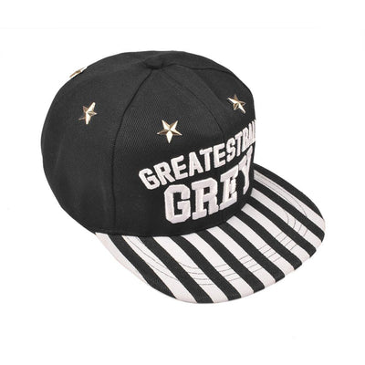 MB Greatest Ball Grey Baseball Cap Headwear MB Traders