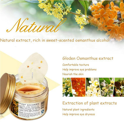 One Spring Natural Osmanthus Eye Mask Health & Beauty Sunshine China