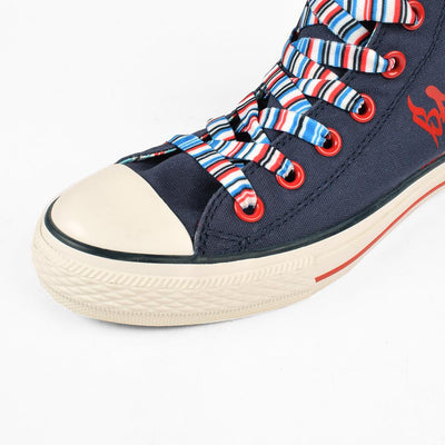 Baoda Women Fashion Shanwei Lace Up Canvas Shoes