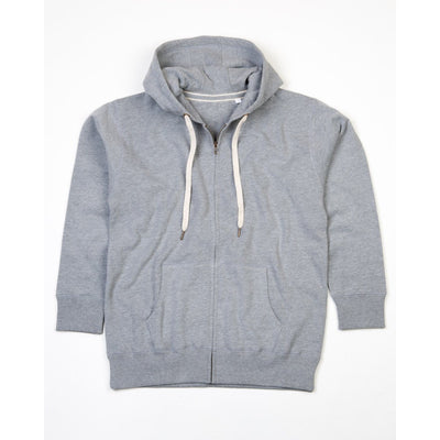 MTS Dapper B Quality Zipper Hoodie B Quality Image Heather Grey M